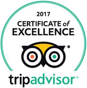 Mango House Trip Advisor Award